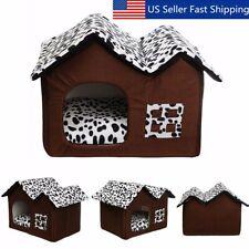 New listing Portable Soft Pet Bed Puppy Cat Dog Spot House Warm Cushion Mat Beddi