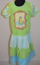 Baby Lulu Girls 6x Dress Erin Murphy Boutique Bird Floral Layered Skirt