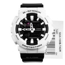 Nuevo * Casio Para Hombre G Shock Negro Glide Luna thermometre Reloj XL GAX100B-7A PVP £ 149