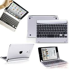 iPad Mini 1 2 3 Bluetooth Keyboard Aluminum Magnetic Cover Wireless Stand Dock