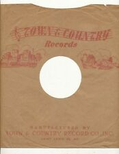 78 RPM Company logo sleeves-POST-WAR-TOWN & COUNTRY