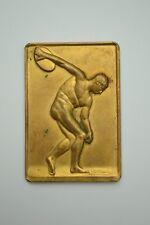 Medal médaille Heusers 1956 Union Minière Congo Katanga colonial mining