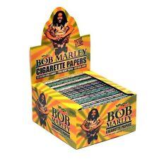 Bob Marley Cigarette Papers Pure Hemp - 1 Big Box 50 Packs 33 Extra Long Leaves