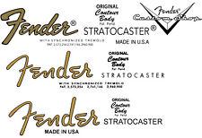 FENDER  Logo - Headstock STICKER  Stratocaster