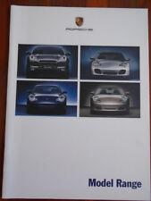 FOLLETO de rango de Porsche 2002 De Julio *