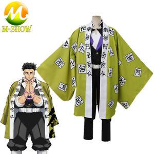 Anime Demon Slayer Himejima Kyoumei Cosplay Costume Kisatsutai Kimono Uniform