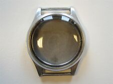 Vintage 60's N.O.S watch case ~ fixed lugs Case diameter 29.5 mm