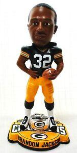 Brandon Jackson Super Bowl Ring XLV Bobblehead Green Bay Packers