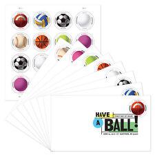 USPS New Have a Ball! Keepsake w/ set of 8 Digital Color Postmark