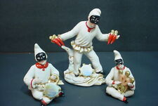 Vintage Capodimonte  Masked Figurines
