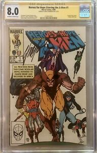 Heroes For Hope X-Men #1 - CGC 8.0 - Signed by Chris Claremont