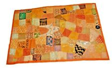 Embroidered Vintage Patchwork Handmade Wall Hanging Tapestry Throw Runner Mat W6