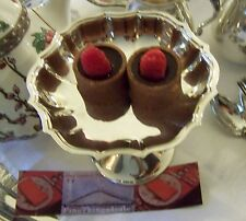 INTERNATIONAL SILVER HOLLOWARE SERVING FOOTED TRAY CHIPPENDALE COMPOTE