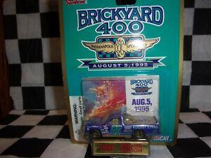1995 Brickyard 400 Inaugural Race Aug 5 #95 Racing Champs NASCAR 1:64 Truck