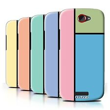 STUFF4 Back Case/Cover/Skin for HTC One S/Pastel Tiles