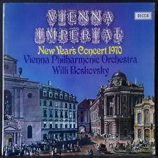 DECCA SXL 6419 ED 1 WB AUS PRES VIENNA IMPERIAL NEW YEAR CONCERTO 1970 BOSKOVSKY