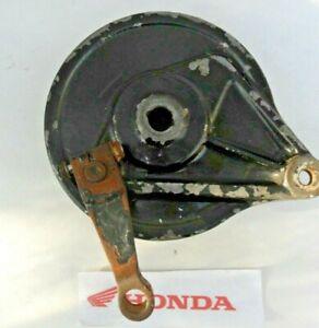 HONDA CM 125C CM125C CM 125 REAR BRAKE DRUM BACK BRAKE ASSEMBLY 1982 - 1985
