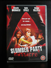 Slumber Party Massacre DVD