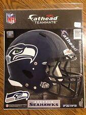 """Seattle Seahawks NFL Fathead Team Logo 12"""" x 10"""", New In Package"""