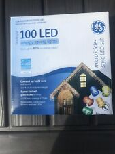 GE 100 Staybright LED Micro Icicle Style Lights NIB New