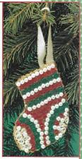**PATTERN FOR QUILLED STOCKING ORNAMENT**--PATTERN ONLY**