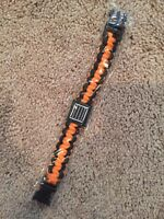 Loot Crate Exclusive Orange Paracord Bracelet GET IT FAST ~ US SHIPPER