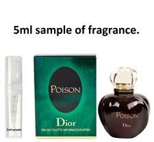Christian Dior Poison women's Perfume Eau De Toilette EDT 5ml sample 100%genuine