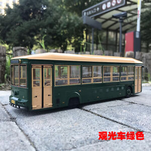 1/43 China BEIJING tour bus  diecast model green color