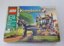 New Lego 7949 Prison Carriage Rescue Kingdoms Soldier Knight Horse Weapons USA