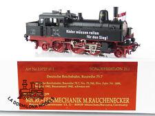 "GL186 H0 BRASS - Micro-Feinmechanik 13727 H.L. Dampflok ""PROPAGANDA"" Br. 75.7 DR"