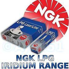 4x NGK Iridium LPG Zündkerzen für Subaru Forester (SG) 05>
