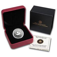 2013 Canada 1/4 oz Silver $3 Maple Leaf Impression - SKU #76984