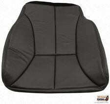 2000 01 2002 Dodge Ram 1500 2500 3500 Driver Bottom Leather Seat Cover Dark Gray