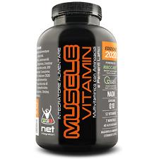 Muscle Vitamin 120 cpr Net Integratori Potente Multivitaminico Nuova Formula