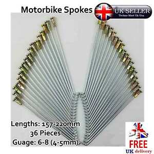 Motorbike Spokes Nipple Cap Many Size Gauge Motorcycle Wheel 5pcs 36pcs SET