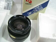 Yashica AF 24mm 1:2.8 Wide Lens In Unused Condition boxed