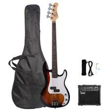 Glarry Gp Electric Bass Guitar w/ 20W Amplifier Bass + Bag + Spanner Tool