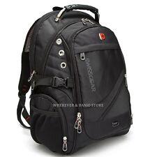 "Swiss Gear Men 17"" Laptop Backpack Computer Outdoor Travel Campping Bag School"