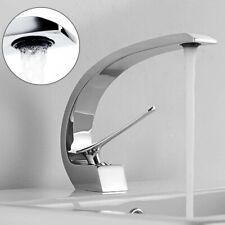 Bad Armatur Wasserhahn Waschbecken Waschtisch Waschtischarmatur Gebogen Design