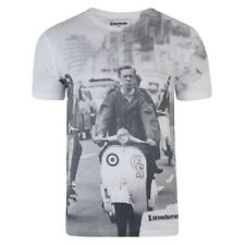 Lambretta Cotton Graphic Loose Fit T-Shirts for Men