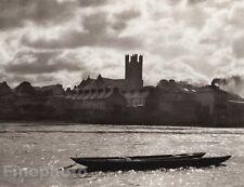 1926 Ireland CATHEDRAL LIMERICK Catholic Religion Waterfront Photo By E.O. HOPPE
