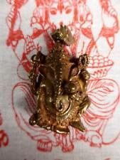 NEW Buddha Bronze GANESH / GANESHA Pendant /Amulet with GANESH WISHING CLOTH