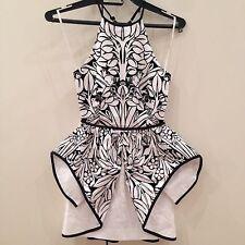 BNWT Alice McCall Peplum Floret Dress Size 4 RRP$295