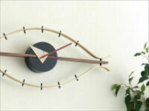 George Nelson Clock Designer Wall Clock Eye clock From Japan New FS