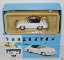VANGUARDS 1/43 VA07901 PORSCHE 356 CABRIO AUTOBAHN POLIZEI STUTTGART