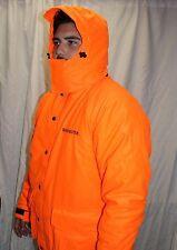 Winchester Blaze Hunter Orange Insualted Water Resistant Parka Jacket Large 1E3