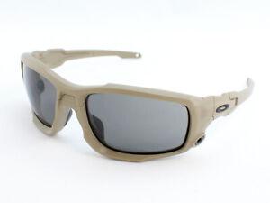 Oakley SI BALLISTIC SHOCKTUBE OO9329-04 Sunglasses - Terrain Tan/Gray