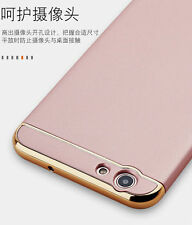 "For ""Oppo F1s"" Royal Electroplated 3 in 1 Hybrid Back Cover Case Gold"