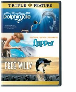 DOLPHIN TALE FLIPPER FREE WILLY (3PC) (3 PACK) NEW DVD