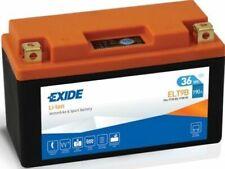 Exide Li-Ion Lithium Motorbike Battery Replaces YT7BBS, YT9BBS YTX9BS ELT9B